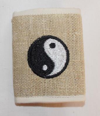 Fair Trade Hemp Wallet Eco Friendly Hand Made Hippy Boho Hippie From Nepal New