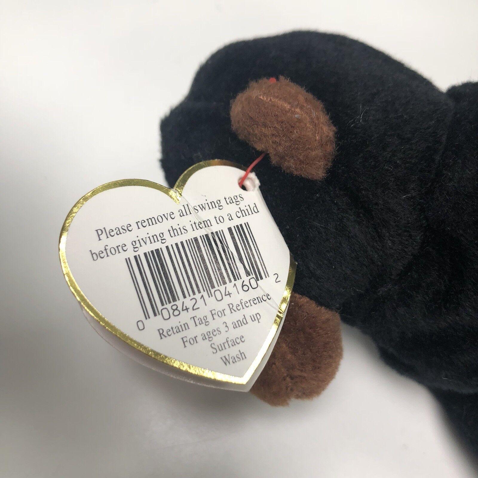 Rare Ty Beanie Beanie Beanie Baby Congo The Gorilla With Errors 9b9a2f