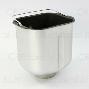 Ariete cestello vasca contenitore macchina cuoci pane Express 750 Metal 132 0132