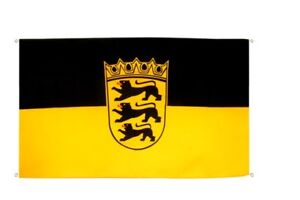 Balcon Drapeau balcon Drapeau Allemagne Bade-Wurtemberg drapeau Drapeau pour le Balk-erg Flagge Fahne für den BALKafficher le titre d`origine GypItIqm-07204622-192301229