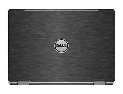 "Black Aluminum Skin Cover Guard for Dell 13 7000 7368 7378 13.3"" 2 in 1 Laptop"