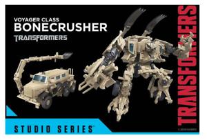 (InHand) Hasbro Transformers Studio Series Voyager Class Bonecrusher Figure