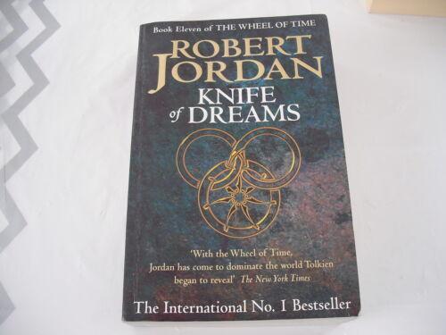 1 of 1 - Knife of Dreams by Robert Jordan - Book 11 of  The Wheel of Time (lrg Paperback)