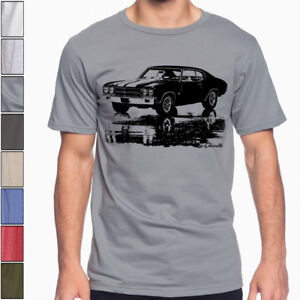 bd17baf83 Image is loading 1970-CHEVY-CHEVELLE-SS-Silhouette-American-Muscle-Car-