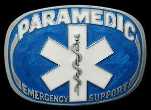 PARAMEDIC-EMERGENCY-MEDICAL-MEDICINE-DOCTOR-BELT-BUCKLE-BOUCLE-DE-CEINTURE