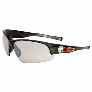 New-Harley-Davidson-Safety-Glasses-Black-Frame-Mirror-Tint-Lens-HD1502-Gift