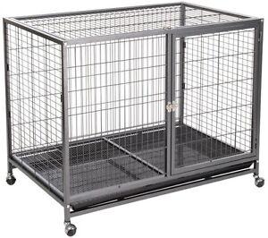 Cage intérieure pour animaux de compagnie Den Shelter Animal Home Coffre-fort Sécurisé Voyage Chenil Dog House Cat