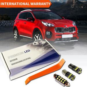 KIA-Sportage-4-QL-LED-Interior-Premium-Kit-7-SMD-White-Error-Free-2016-2019
