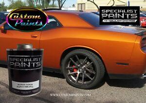 Image Is Loading Chrysler Mango Tango Paint Code Pvg Urethane Based