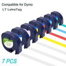 7pcs 16952 91330 91335 Compatible Dymo Letratag Refill Label Tape Lt 100h 12