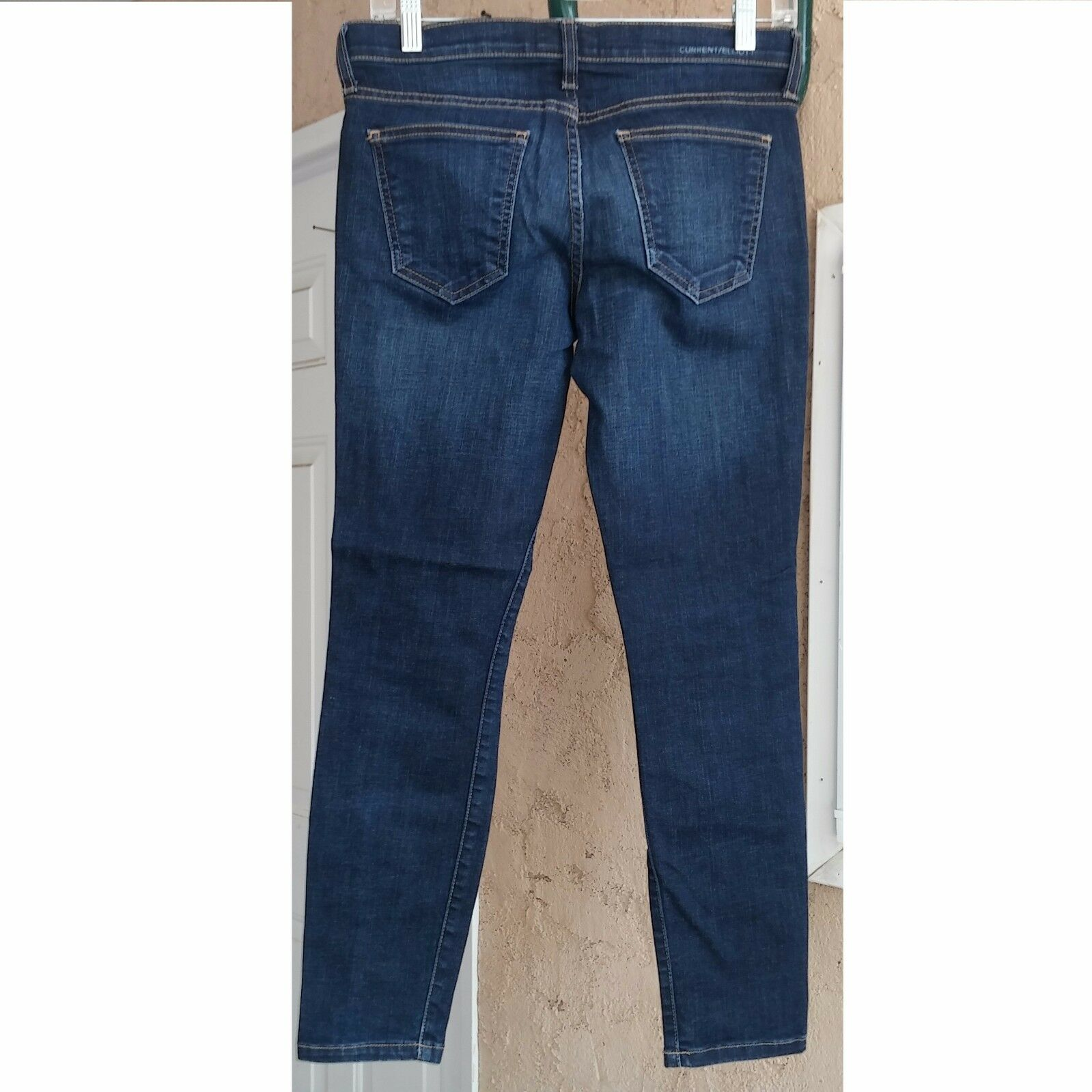 CURRENT ELLIOTT Women's Jeans Cropped THE STILETTO in TAVERN Wash Size 26