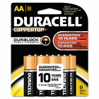 Duracell Coppertop AA Alkaline Household Batteries 8 Count