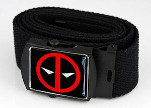 Deadpool Logo Belt