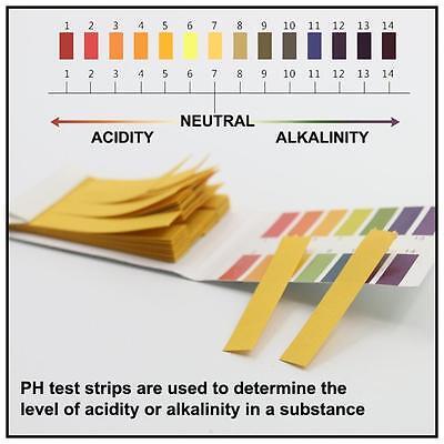 3 80 Strips Strips Indicator Litmus 1 14 Ph Testing Paper