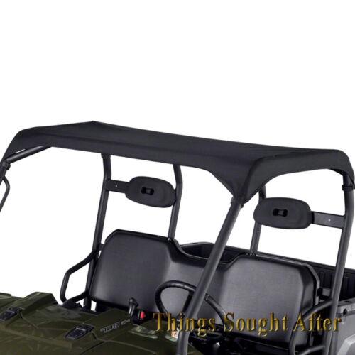 BLACK CANVAS ROOF 2004-2005 POLARIS RANGER 2x4 4x4 6x6 EFI 425 /& 500  Bimini Top