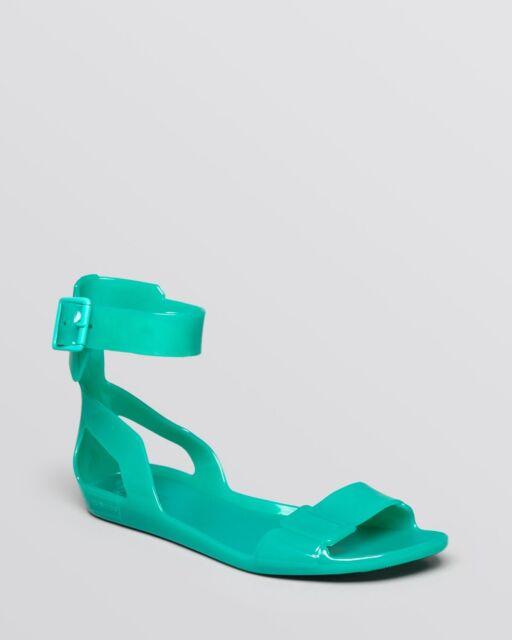 6b2b18e8d9b4 Hunter Open Toe Jelly Sandals Original Size 5 MSRP   85 New