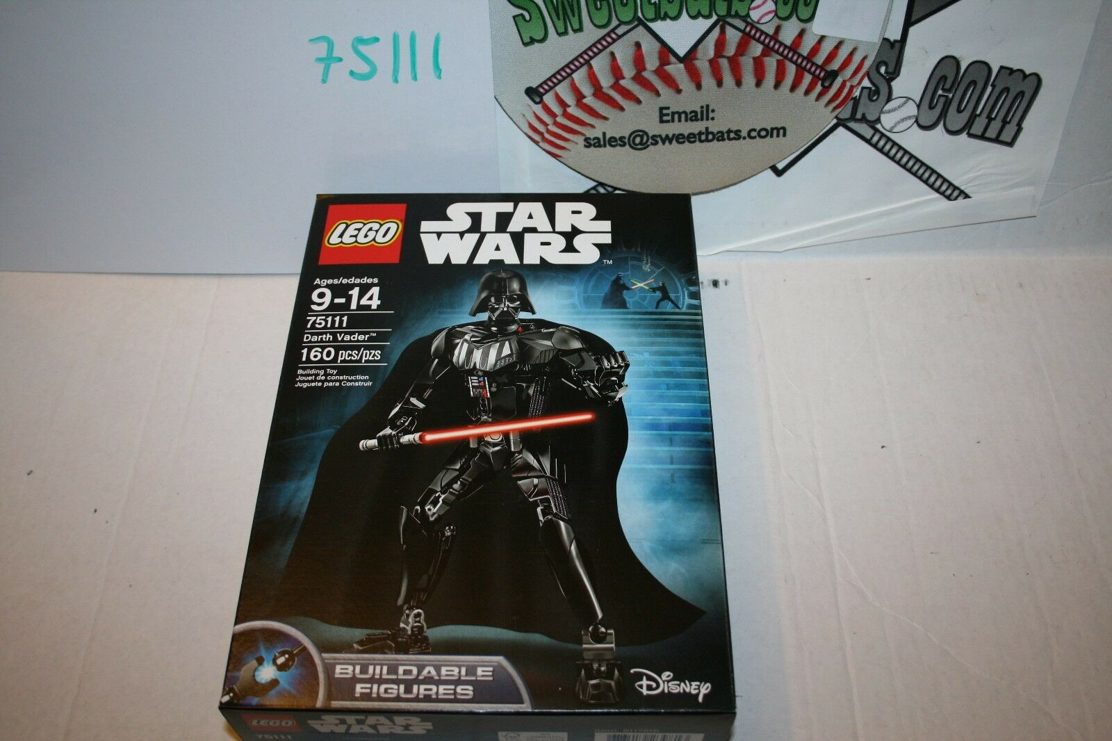 75111 Lego Star Wars Darth Vader New Sealed NIB 160 pcs Pieces Return of Jedi