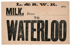 I-B-London-amp-South-Western-Railway-Milk-Label-Waterloo