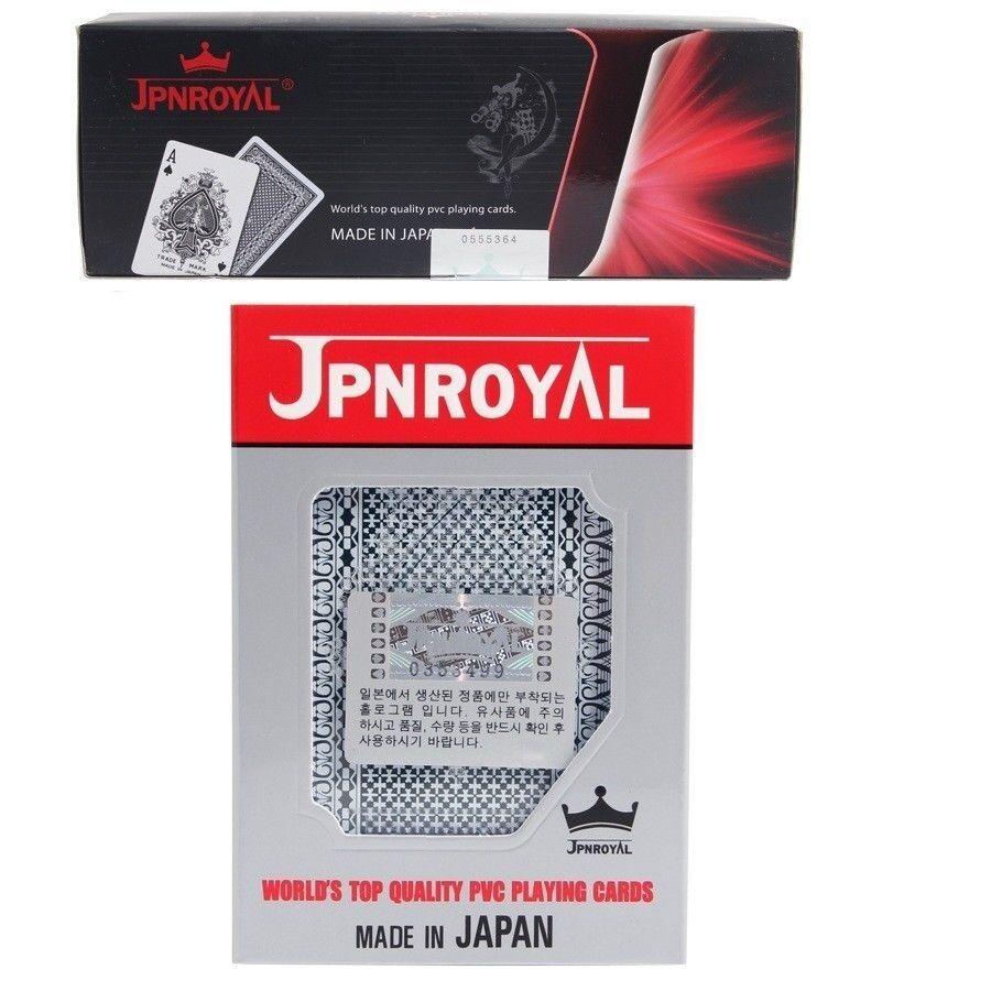 JPNROYAL 1BOX (12Pcs) Playing Cards PVC Poker Cards Made in Japan  GENUINE