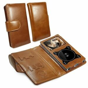 TUFF-LUV-Genuine-Vintage-Leather-Case-Cover-for-Fiio-X3-Mark-III-3-MP3-Brown