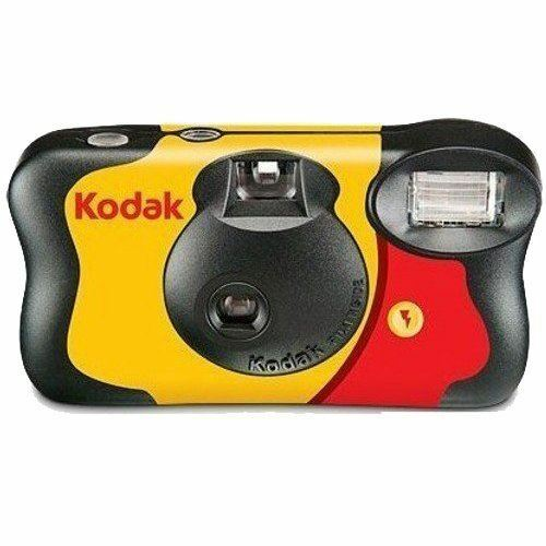 Kodak funflash Cámara Flash de usuario único 800asa 27+12 Gratis