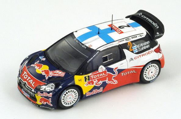 SPARK Citroen DS3 WRC th Rally Monte Carlo 2012 Hirvonen S3327 1 43