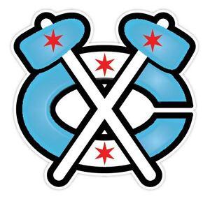 Chicago Blackhawks Vinyl Sticker Decal *SIZES* Cornhole Wall Bumper Truck Car