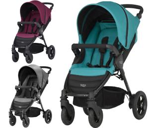 Britax-Romer-B-MOTION-4-wozek-stroller-pushchair-kinderwagen-FREE-SHIPPING