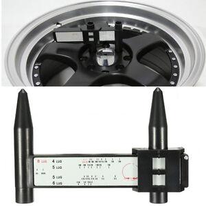 Outil-Instrument-Jauge-Mesure-Entraxe-Jante-Moyeu-PCD-Roue-4-5-6-8-Boulon-Auto