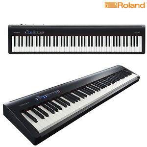 roland fp 30 bk 88 keys bluetooth built in speaker digital piano black brand new ebay