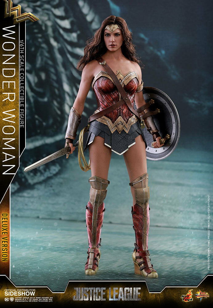 Hot Toys DC Comics Justice League Movie Wonder Woman Deluxe Sixth Scale Figure