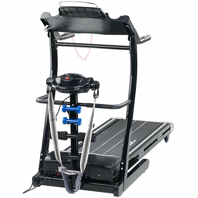 2in1 Profi-Laufband LF-412.multi mit Fitness-Station und Bandmassage