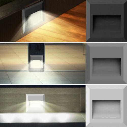 DEL Extérieur Mur Lampes façades installation projecteur Porche escalier ciel brillent