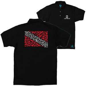 FB Scuba Diving Top Octopus Divers Novelty Birthday Christmas Polo T-Shirt