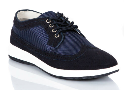 Scarpe Uomo Sneakers Pelle PU Casual Francesine Mocassini Ginnastica Comode S67