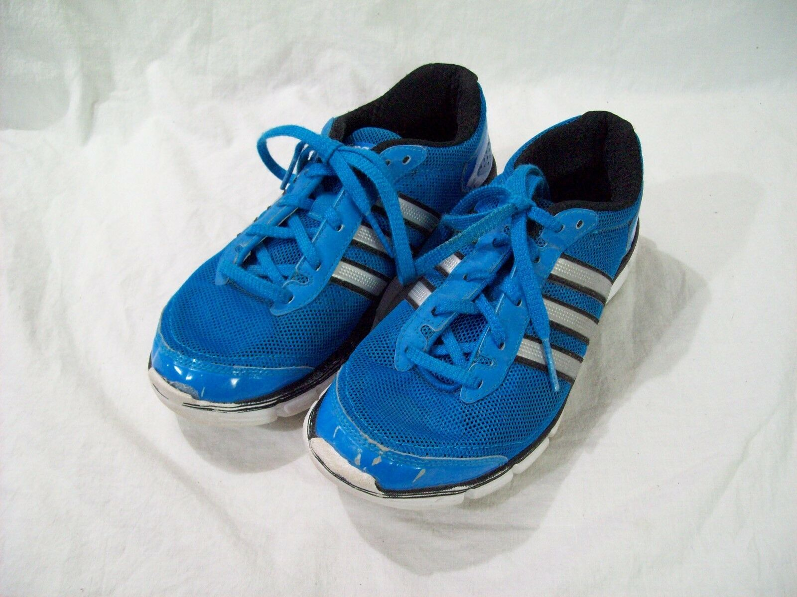 Adidas Climacool Women's Running Shoes Blue Silver sz 5