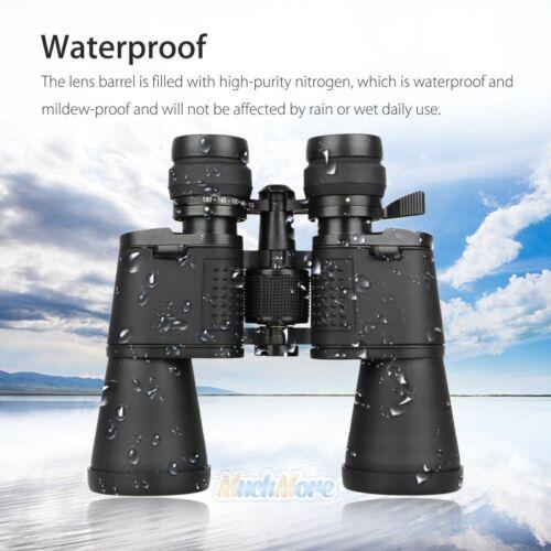 180x100 High Power Military Army Zoom Binoculars Day//Night BAK4 Optics Hunting