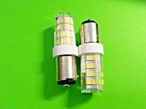51 LED Steckfassung//Bajonettfassung für Nähmaschinen 2 x LED Lampe Stück 9,99