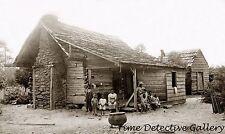 The Whitaker Family, Freed Slaves, South Carolina - 1874 - Historic Photo Print