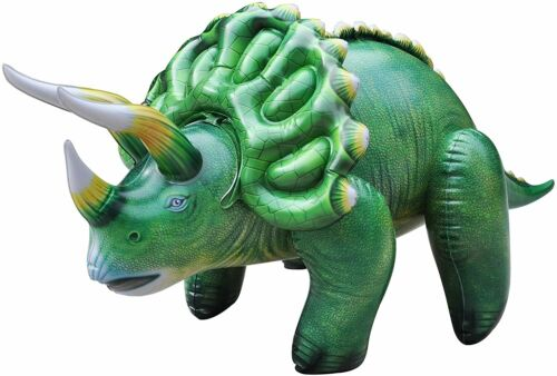 Jet Créations TRICERATOPS TYRANNOSAURUS Brachiosaurus gonflable Dino Party Toy