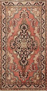 Floral Semi Antique Lilihan Traditional Hand-knotted Area Rug Wool Carpet 4x6