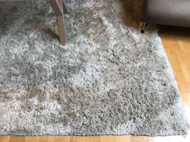 Løse tæpper, Polyester/Viscos, b: 170 l: 240