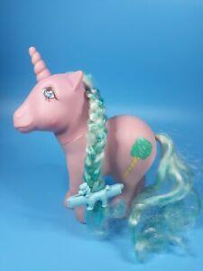 Vintage My Little Pony G1 Unicorn Sugar Sweet Cotton Candy 1983