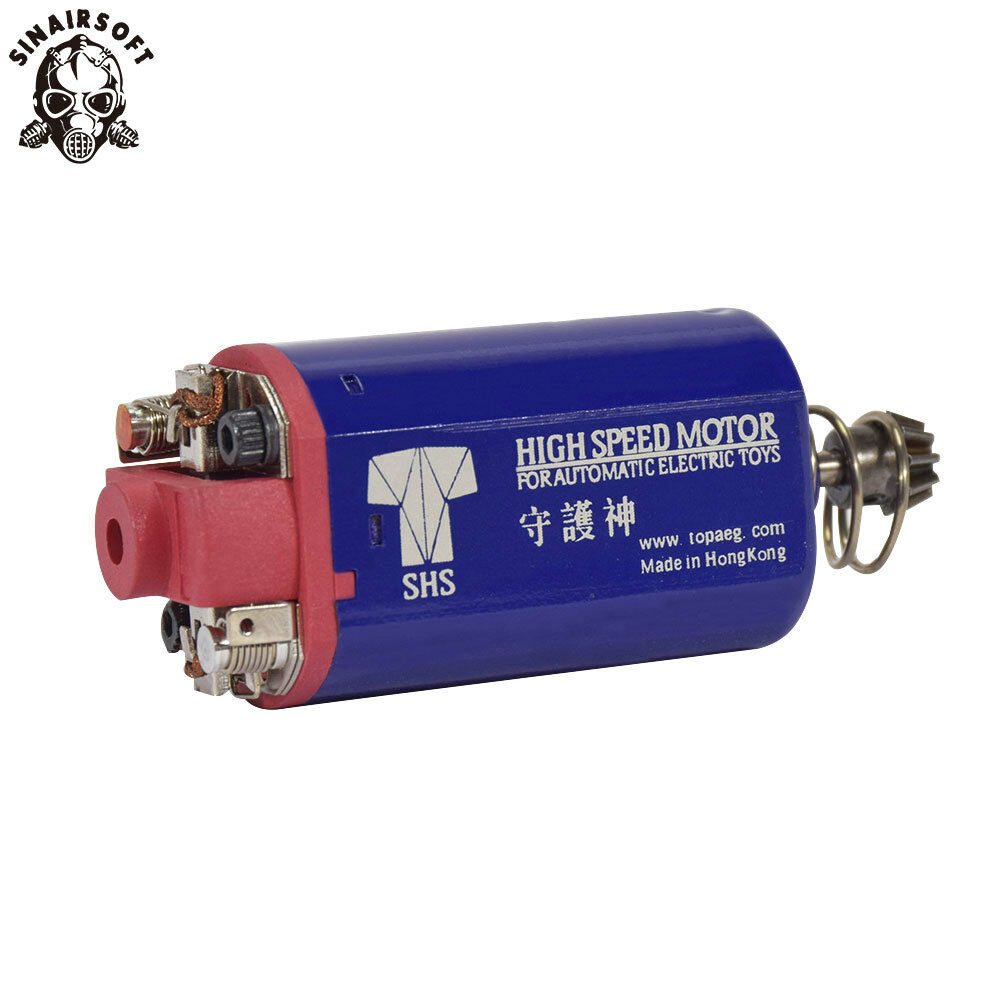 SHS Ultra High Speed AEG Motor Short for PTS ACR G36 AUG Airsoft Ver.3 7 Gearbox