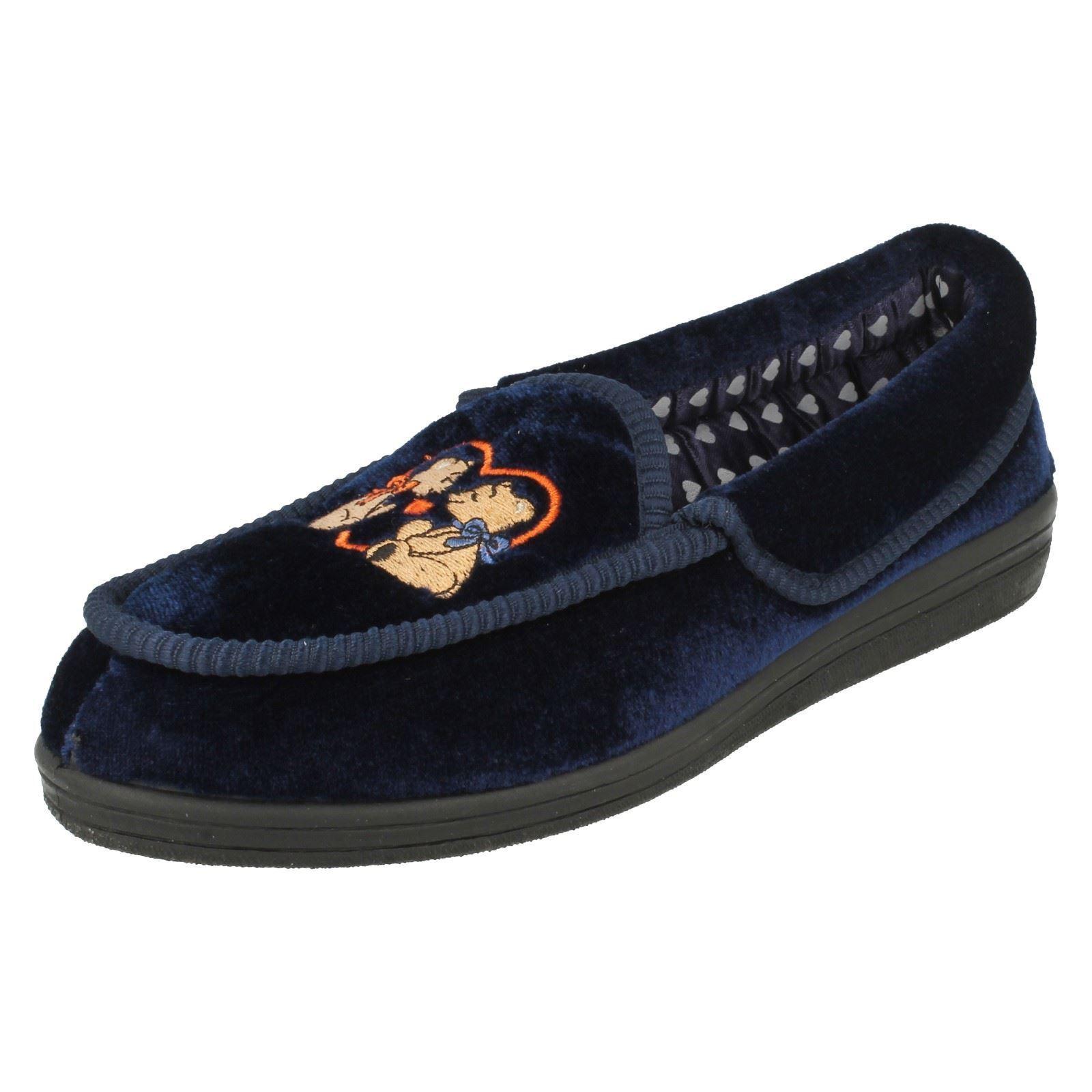 Donna QUATTRO motivo SEASON F325 Indoor flessibile SLIP ON motivo QUATTRO scarpe comodo intera b2b6f2