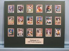 Oakland A's - 1989 World Series Champs - The Earthquake World Series