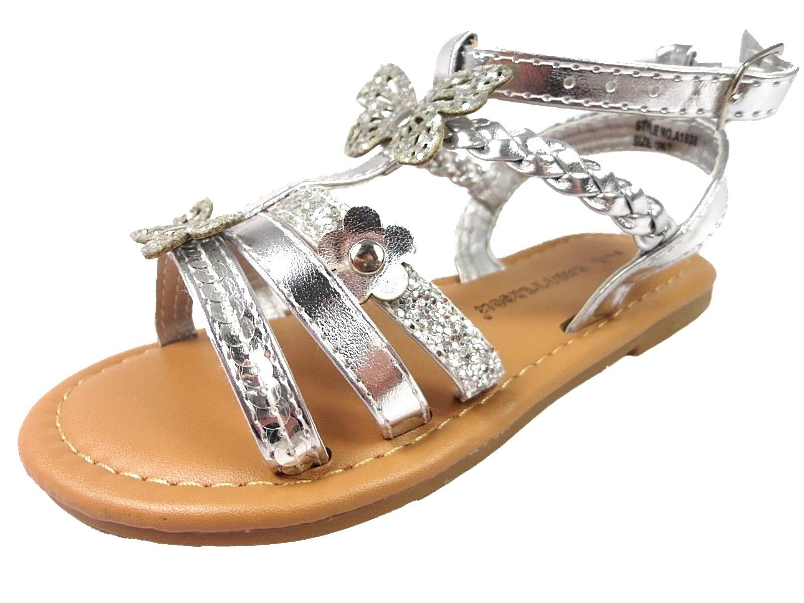 GIRLS SANDAL STRAPPY SUMMER HOLIDAY CHATTEROX SANDALS