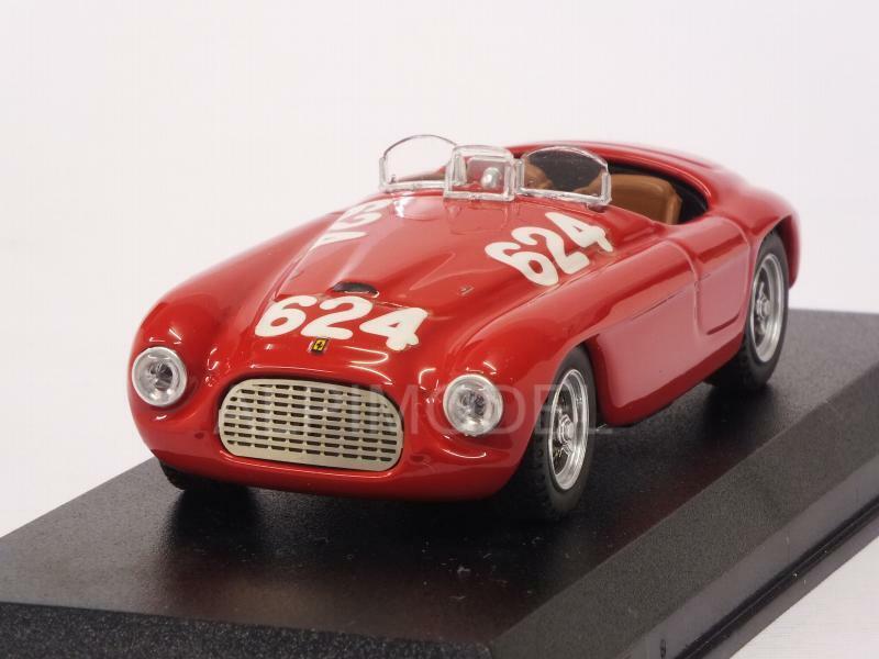 Ferrari 166 MM Winner Mille Miglia 1949 Biondetti - Salani 1 43 ART 008-2