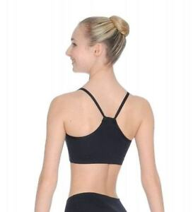 506994a975401 Image is loading Roch-Valley-Microfibre-Strappy-Crop-Top-with-Muscle-
