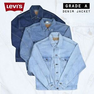VINTAGE-LEVIS-DENIM-JACKET-GRADE-A-VARIOUS-COLOURS-XXS-XS-S-M-L-XL-XXL